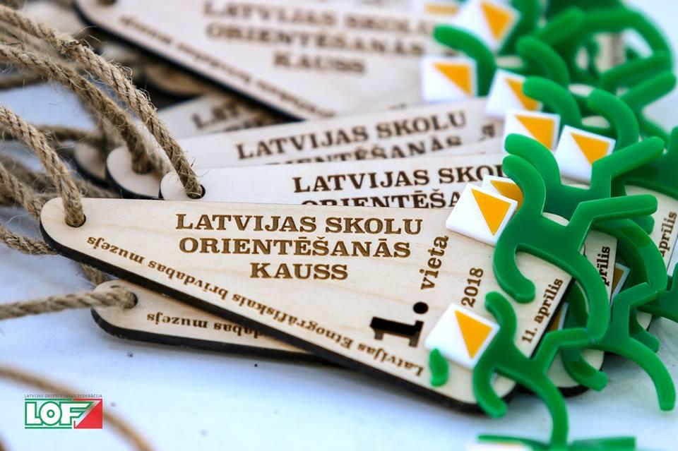 Latvijas Skolu kauss orientēšanās 2018